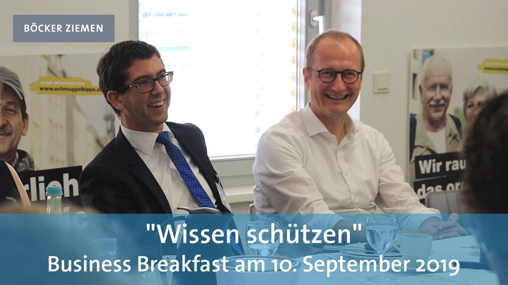 Business Breakfast 10.09.2019